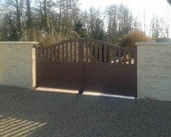 Pava Paysage - Mellecey - Clôtures portail
